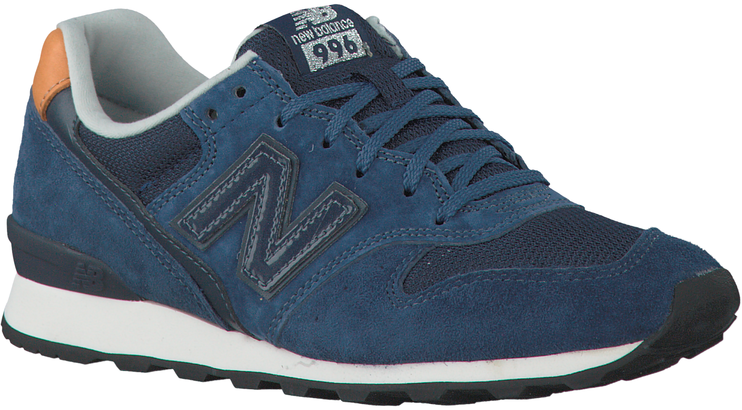 new balance wr996 heren blauw